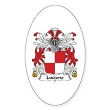Luciano Oval Decal