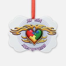 AUTISM TRIBAL HEART5.png Ornament