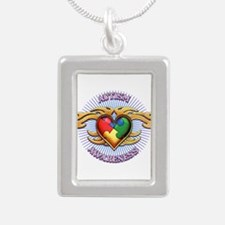 AUTISM TRIBAL HEART5.png Necklaces