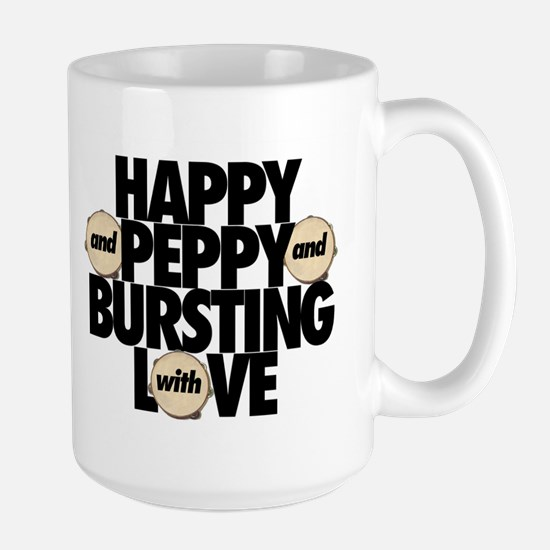 HAPPY AND PEPPY Large Mug