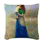 Amormaterno1.png Woven Throw Pillow