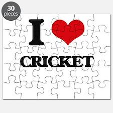 I Love Cricket Puzzle