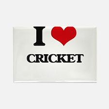 I Love Cricket Magnets