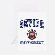 SEVIER University Greeting Cards (Pk of 10)