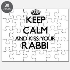 Keep calm and kiss your Rabbi Puzzle