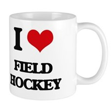 Cute I love field hockey Mug