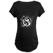 Black & White Gecko Yin-Yang T-Shirt