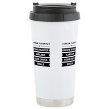 Unique Funny quotes Travel Mug