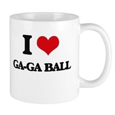 I Love Ga-Ga Ball Mugs