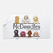 Goldendoodle McDoodles Beach Towel