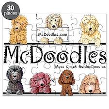 Goldendoodle McDoodles Puzzle