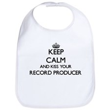 Keep calm and kiss your Record Producer Bib