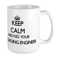 Keep calm and kiss your Recording Engineer Mugs