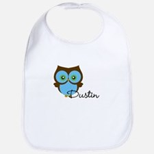 Name Owl Bib