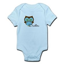 Name Owl Infant Bodysuit