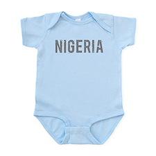 Cute Nigeria Infant Bodysuit