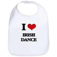 I Love Irish Dance Bib