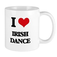 I Love Irish Dance Mugs