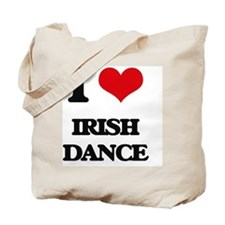 I Love Irish Dance Tote Bag
