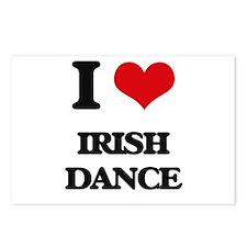 I Love Irish Dance Postcards (Package of 8)