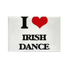 I Love Irish Dance Magnets