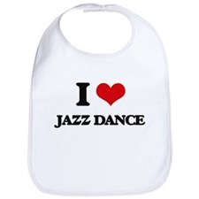 I Love Jazz Dance Bib