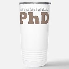 Cute Professor Travel Mug