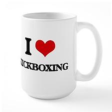 I Love Kickboxing Mugs