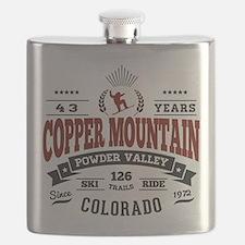 Copper Mtn Vintage Flask