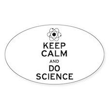Keep Calm Do Science Decal