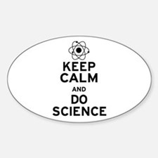 Keep Calm Do Science Sticker (Oval)