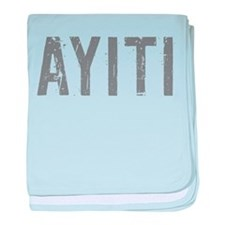Cute Haiti baby blanket