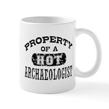 Property of a Hot Archaeologist Mug