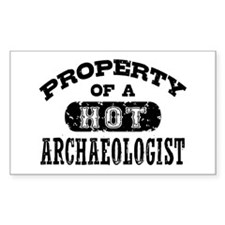 Property of a Hot Archaeologis Decal