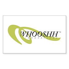 Whoosh Logo Decal