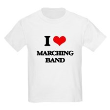I Love Marching Band T-Shirt