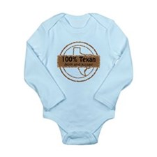100 % TEXAN Born and Raised Body Suit