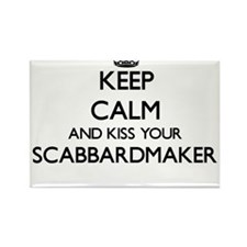 Keep calm and kiss your Scabbardmaker Magnets