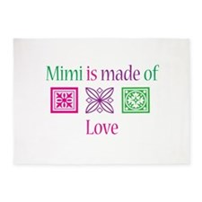 Mimi is made of Love 5'x7'Area Rug