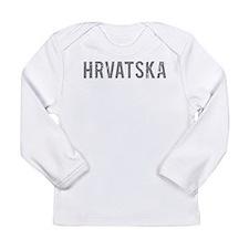 Cool Croatia Long Sleeve Infant T-Shirt