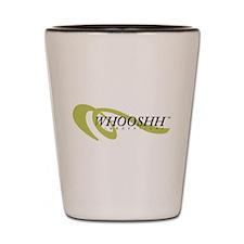 Whoosh Logo Shot Glass