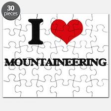 I Love Mountaineering Puzzle