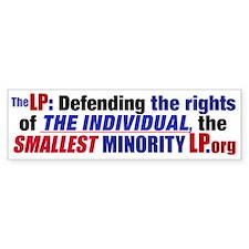 Defending Rights Bumper Bumper Sticker