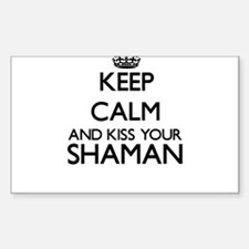 Keep calm and kiss your Shaman Decal