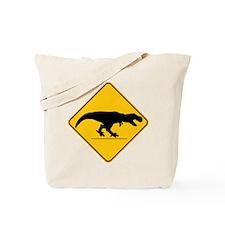 T Rex Crossing Tote Bag