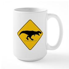 T Rex Crossing Mug