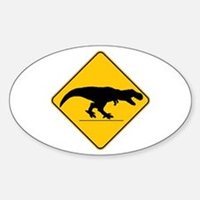 T Rex Crossing Decal