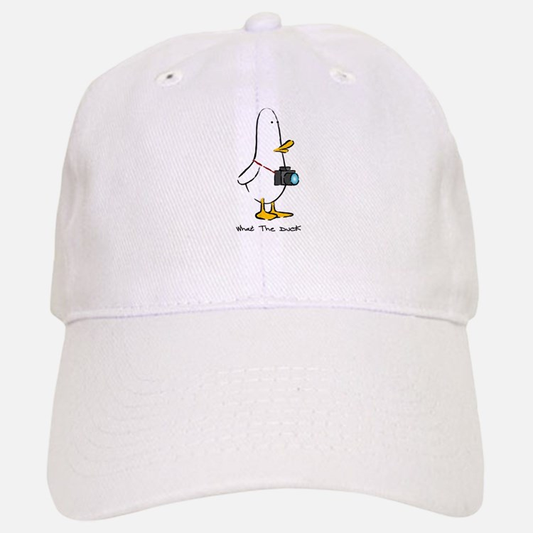 What the Duck: 1 of 4 Charact Baseball Baseball Cap