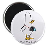 "What the Duck: 1 of 4 Charact 2.25"" Magnet (10 pac"