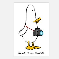 What the Duck: 1 of 4 Charact Postcards (Package o